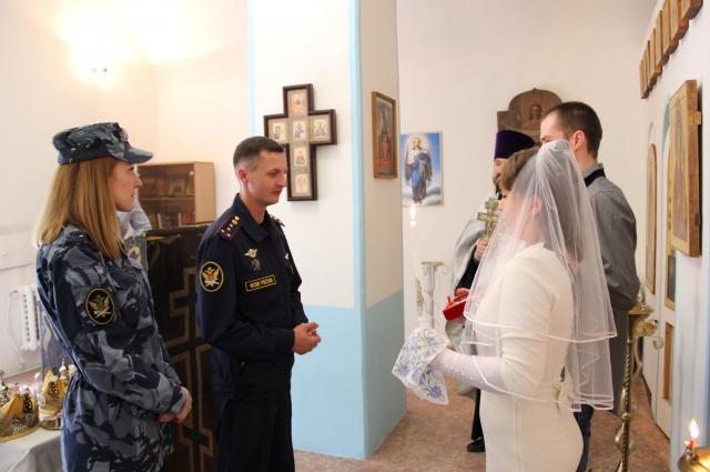 В последнее время растёт число венчаний в учреждениях ГУФСИН в Прикамье.