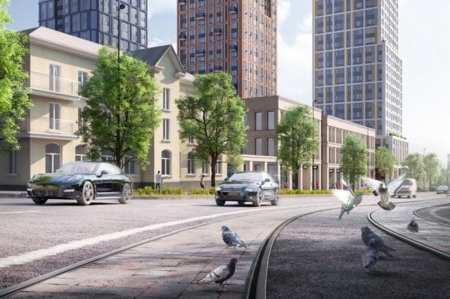С появлением нового жилого комплекса инфраструктура обогатиться.