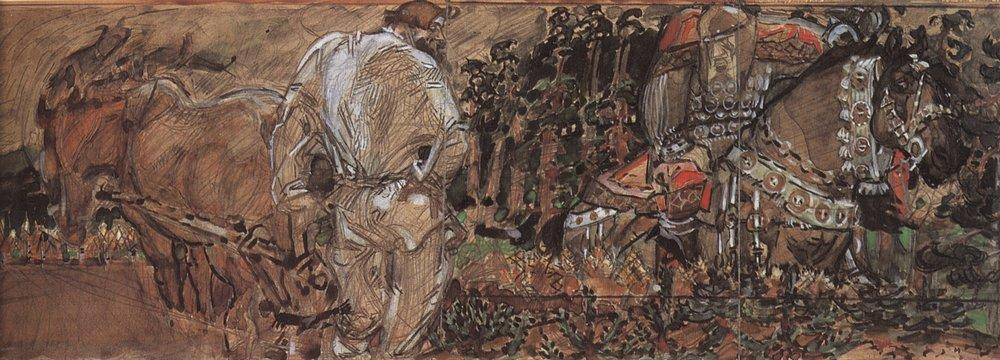 «Микула Селянинович»,  1896 год.