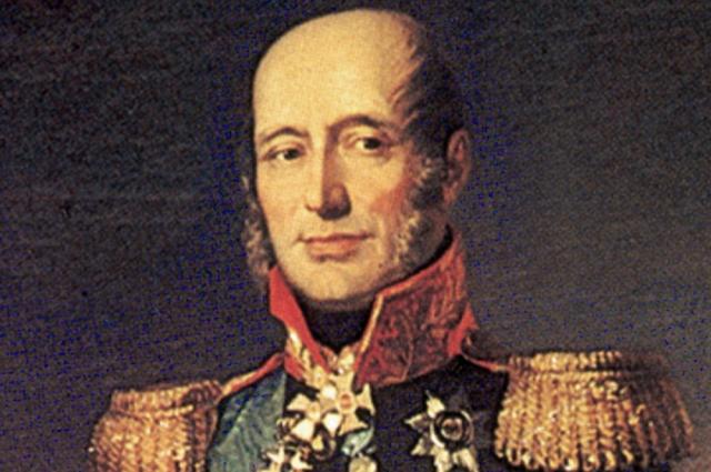 Портрет М. Б. Барклая-де-Толли работы Джорджа Доу.