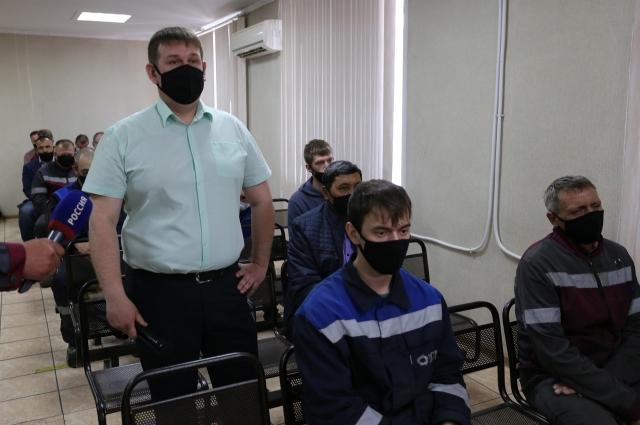 Рассказывает Иван Давыдов, мастер участка сократительной плавки и конвертирования МПЦ.