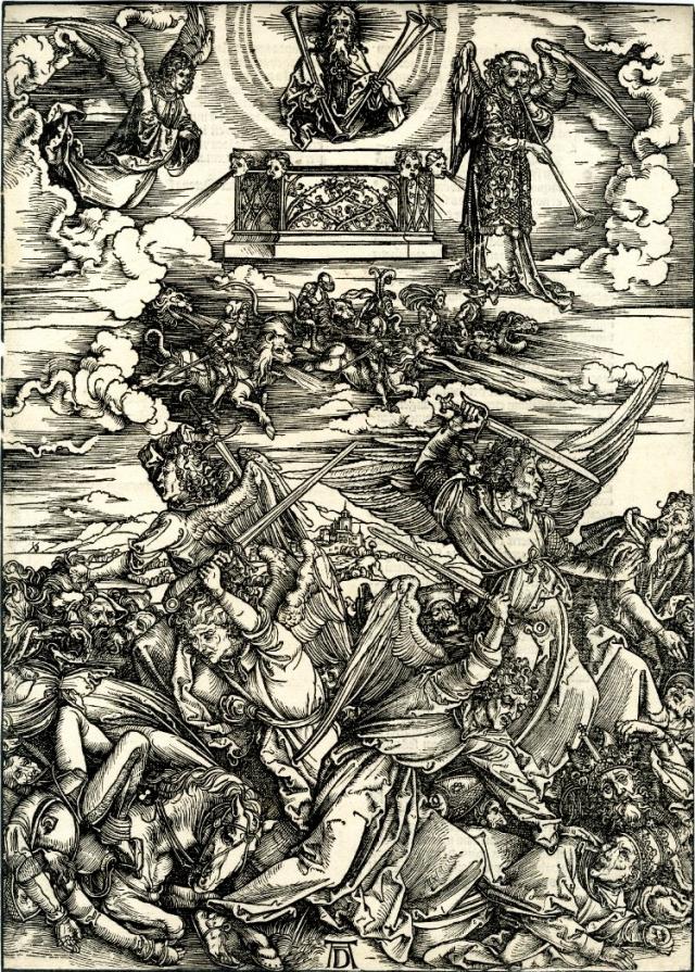 Четыре всадника Апокалипсиса. 1497—1498.