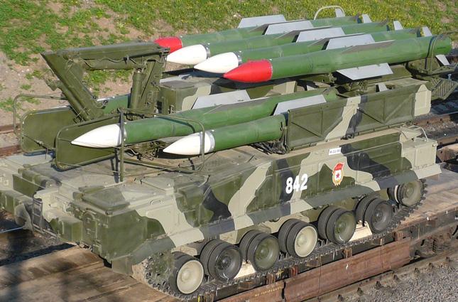 Пуско-заряжающая установка 9А316 комплекса Бук-М2