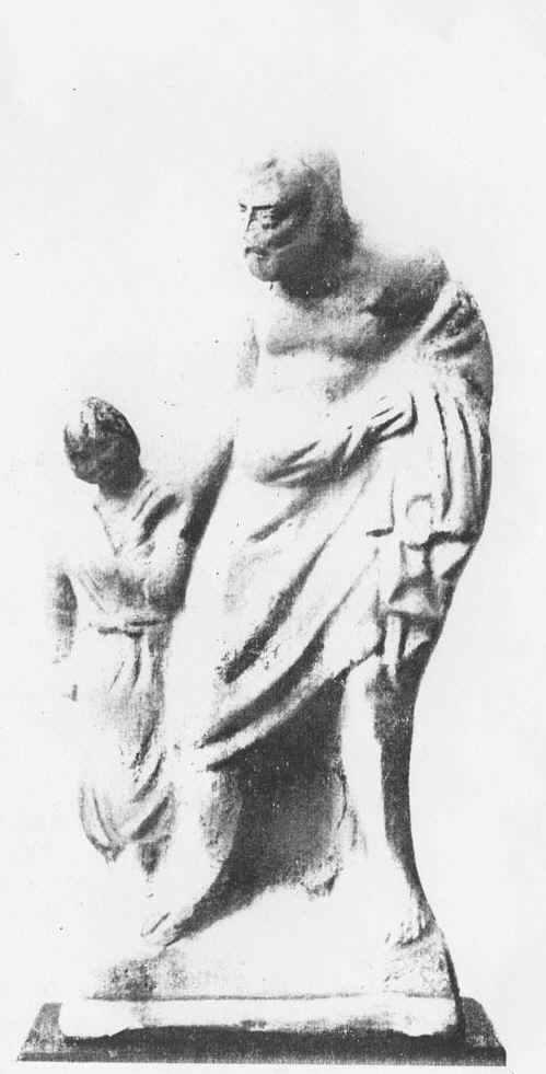 Терракотовая статуя раба-педагога в Древней Греции