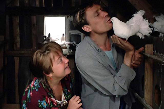Александр Михайлов в фильме «Любовь и голуби», 1984 год
