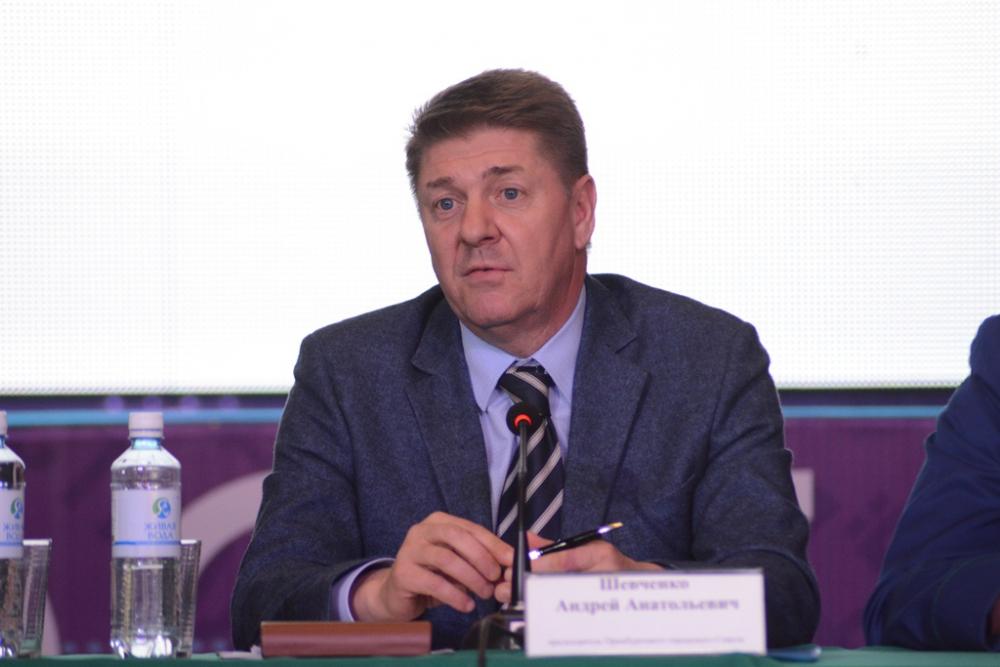 Андрей Шевченко принял участие в работе молодежного слета «МОСТ-2015».