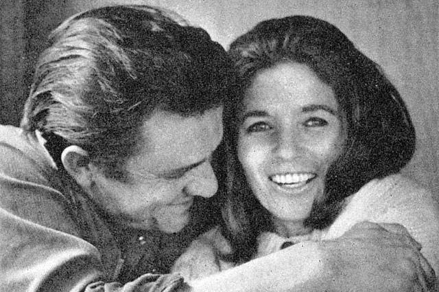 Джонни Кэш и Джун Картер, 1969 г.