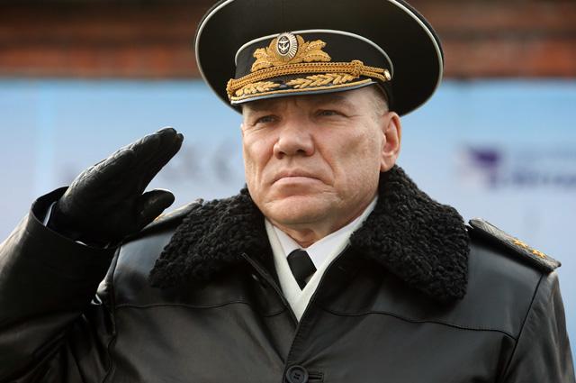 Вице-адмирал Виктор Кравчук.