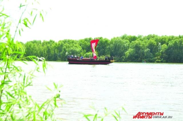 Омичи стали участниками Дня Иртыша в Павлодаре.