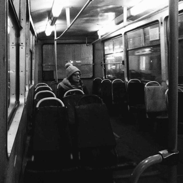 Безлюдные улицы, безлюдные трамваи…