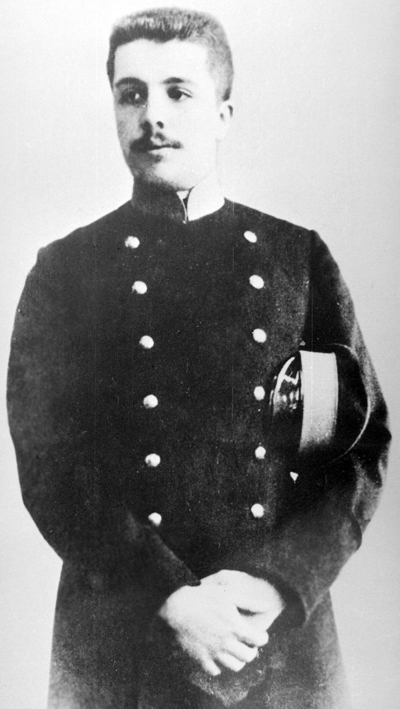 Русский театральный и художественный деятель Сергей Дягилев (1872-1929 гг.).
