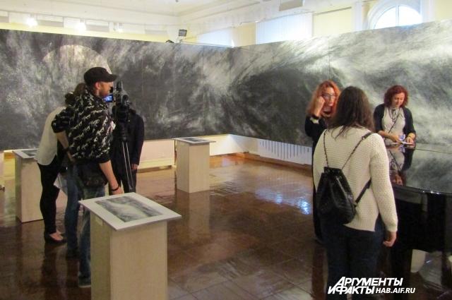 Картина «Цунами» - дело всей жизни художника.