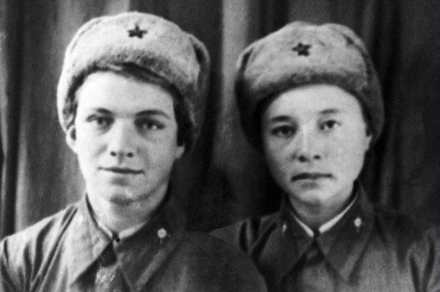 Наталья Ковшова и Мария Поливанова.