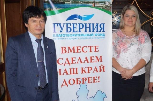 Сергей Скворцов и Катерина Кантур.