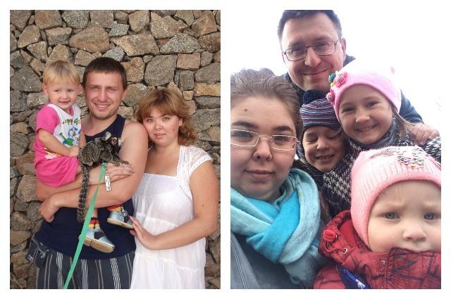Через несколько лет семья Мухачёвых стала многодетной.