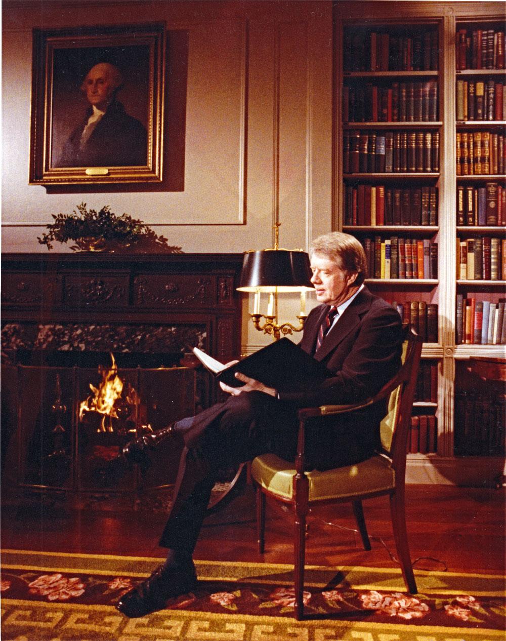 Президент США Джимми Картер 1978г.