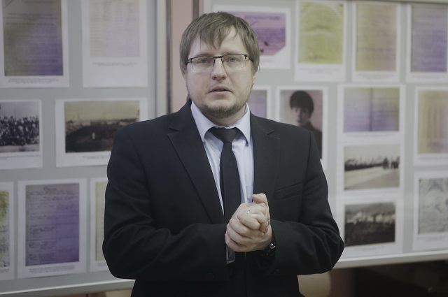 Валерий Кузьмин, директор Государственного архива Псковской области