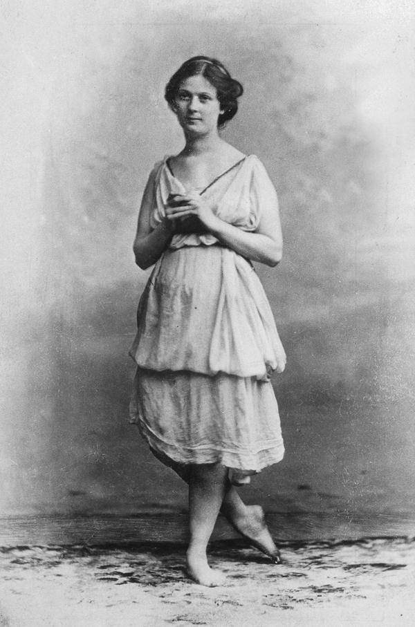 Айседора Дункан. 1902 год