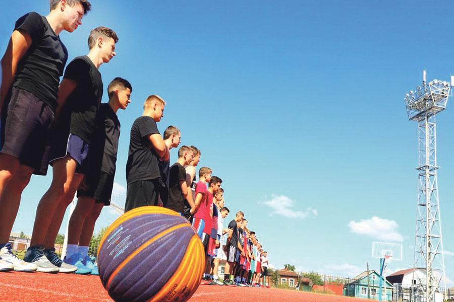 Благодаря проекту «Спорт – норма жизни» мичуринцы ежедневно укрепляют здоровье.