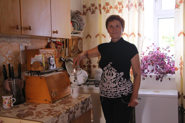 Мария Мериченко дома.