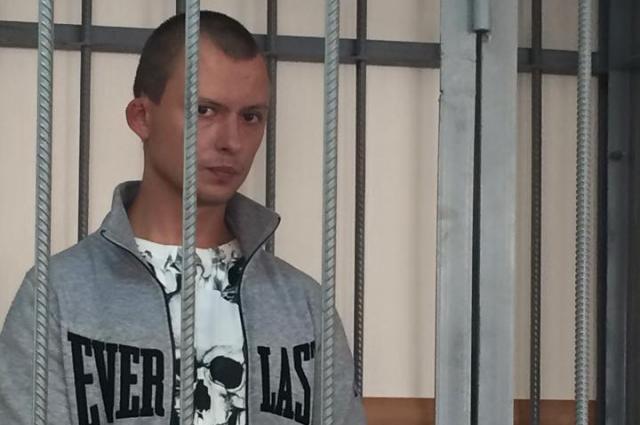 Роман Яковлев на суде во время избрания меры пресечения.