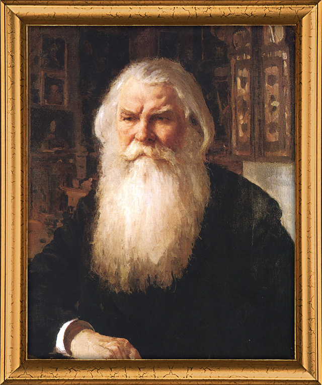 Валентин Серов. Портрет И. Е. Забелина. 1892 год