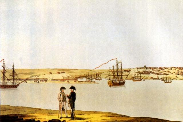 В пункте базирования флота был основан город Севастополь.
