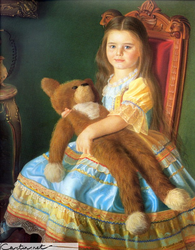 Одна из известных работ мастера - Машенька Шилова, 1983 г.