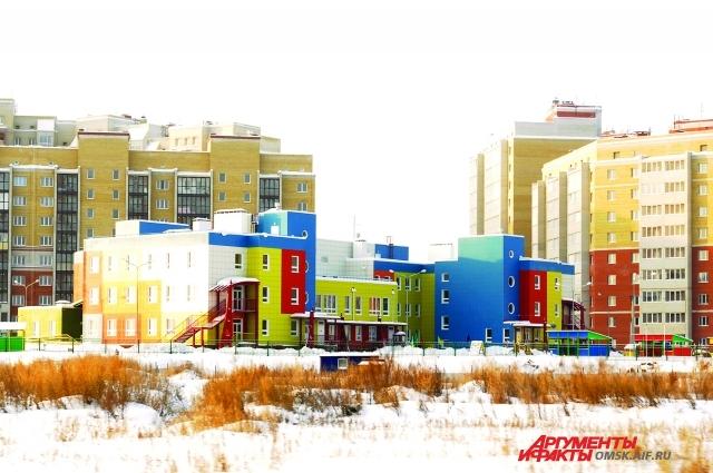 Детский сад в микрорайоне комплексной застройки на ул. Завертяева.