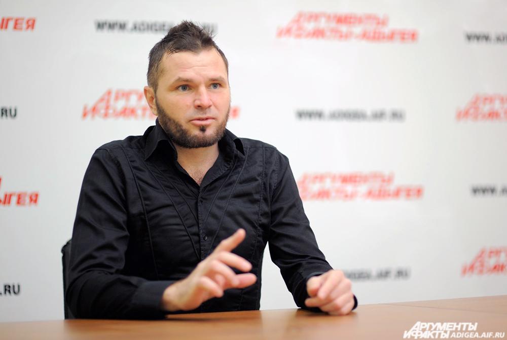Геннадий Жирнов в редакции АиФ-Адыгея.