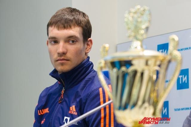 Андрей Ларьков - серебряный призер чемпионата мира.