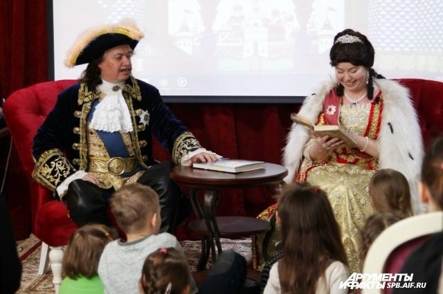 Андрей и Виктория Булгаковы рады читать детям