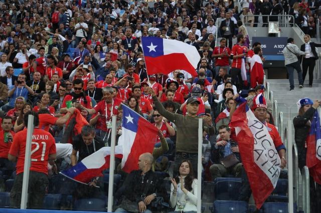 Новый стадион достойно встретил многотысячную армию болельщиков.