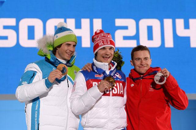 Вик Уайлд с золотом Олимпиады