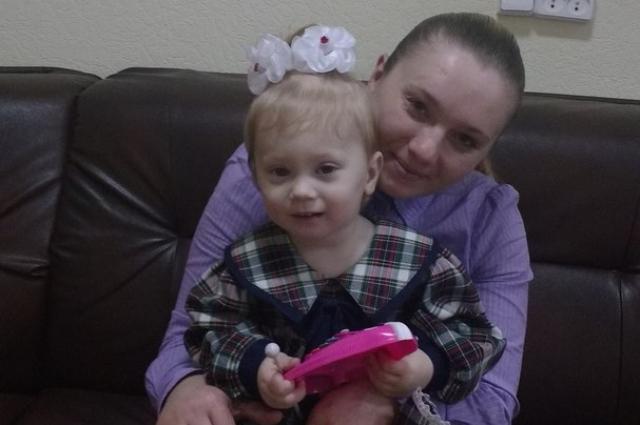 Светлана с дочкой