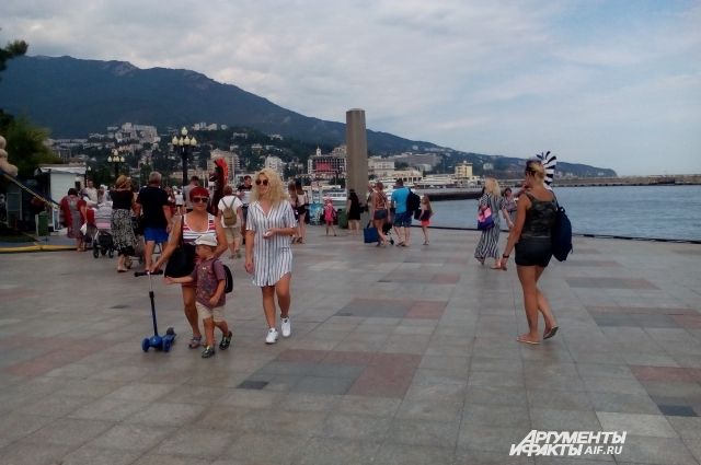 Ялта – один из самых популярных городов в России для туризма.