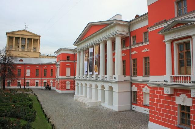 Так выглядит музей современной истории России. Адрес - Тверская, 21. Бывший Английский клуб.