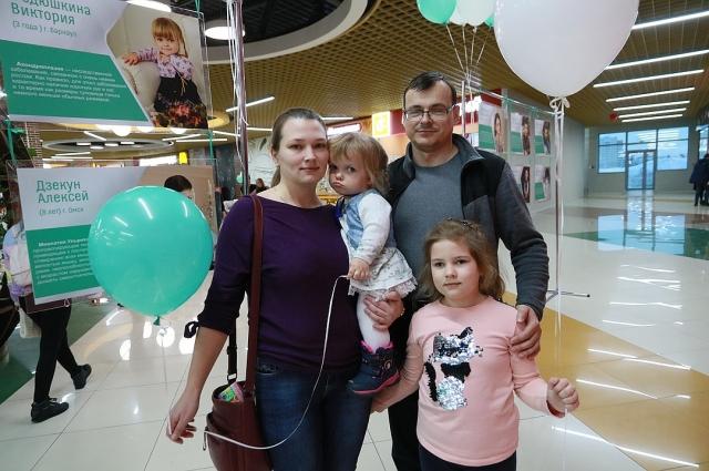 В три с половиной года рост девочки из Барнаула - 75,5 см