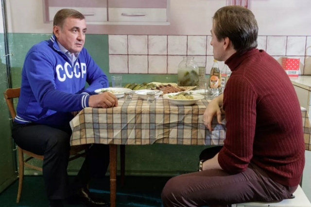 Губернатор Тульской области Алексей Дюмин встретился с Сергеем Безруковым.