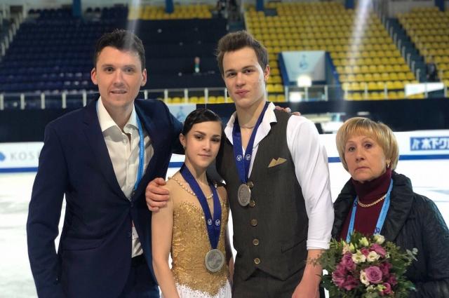 На первенстве России в Перми Панфилова-Рылов завоевали бронзовые медали.