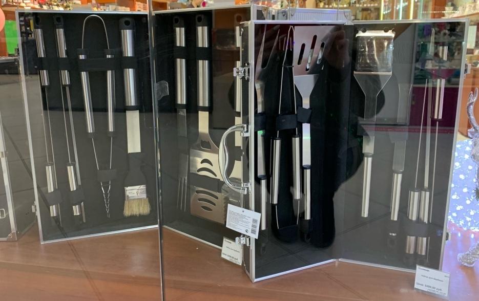 Набор для барбекю от магазина «Календарь подарков» от 5499 рублей.