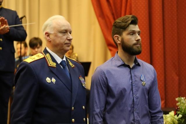 Александр Бастрыкин и Глеб Сизых.