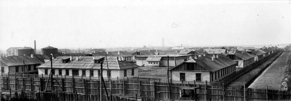 Юногородок пос. Западный. 1944 год.