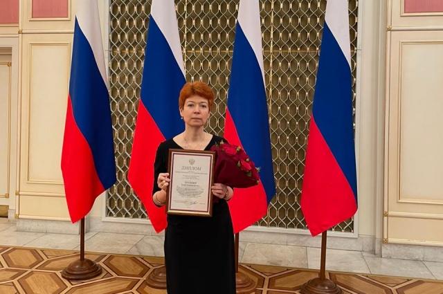 Награждение сотрудников «АиФ» премиями правительства в области СМИ.