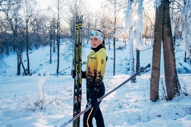 Лыжный спорт развивается в регионе - уверена Катя.