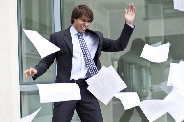 Работа, кризис, документы, стресс