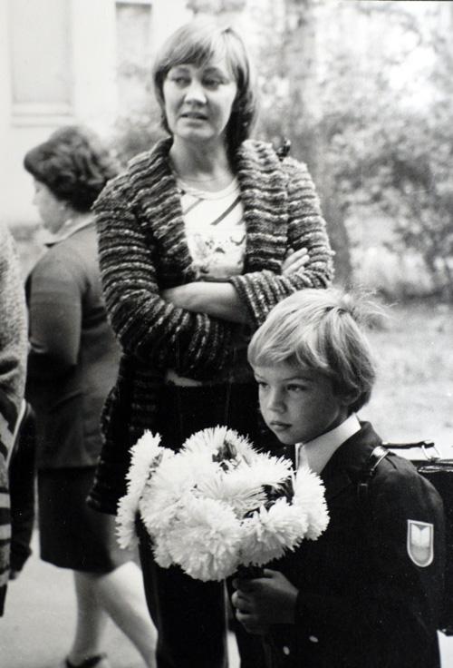 Лариса Лужина с сыном Павлом