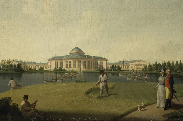 Таврический дворец Потемкин получил за участие в присоединении Крыма к России.