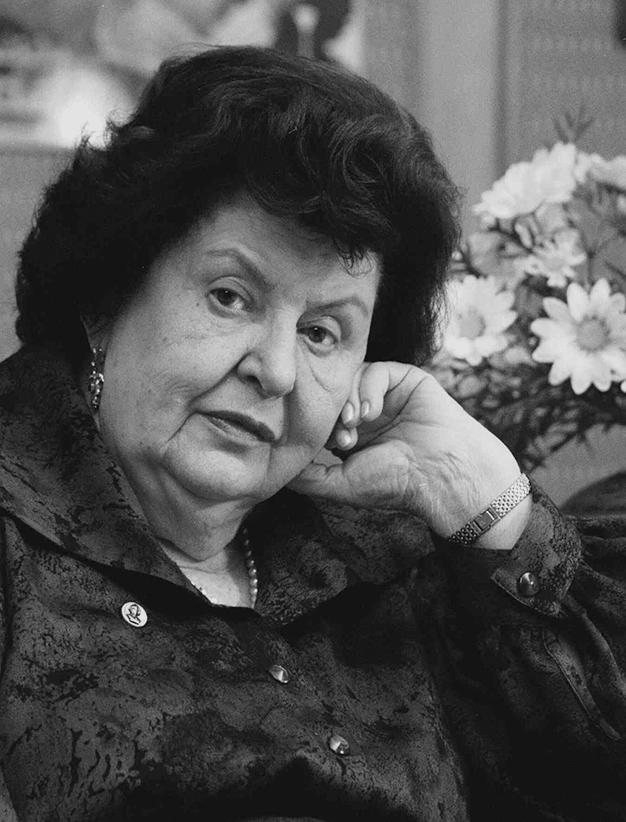 Наталья Петровна Бехтерева.