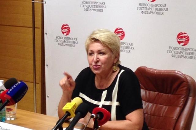 Татьяна Людмилина рассказвла о своих заслугах и
